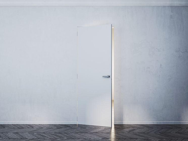 Le porte interne porte interne tipologie di porte interne - Porta filo muro prezzi ...