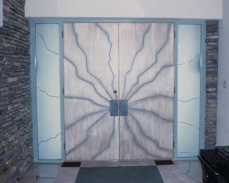 Porta interna in vetro