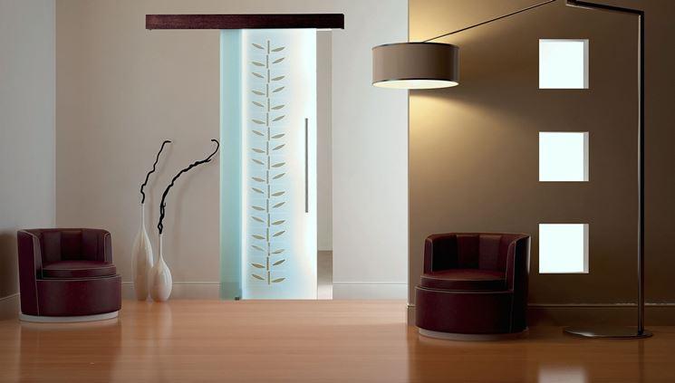 Porta scorrevole esterno muro porte interne porta - Porta scorrevole vetro offerta ...