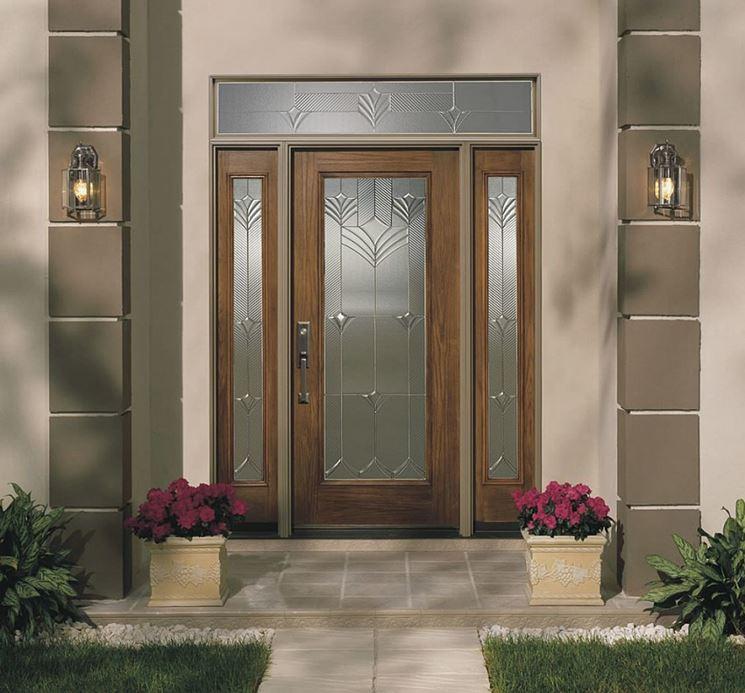 Porte d 39 ingresso porte interne tipologie di porte di for Stili di porta d ingresso per case di ranch