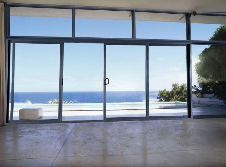 Porte finestre scorrevoli porte interne infissi scorrevoli - Finestre scorrevoli prezzi ...