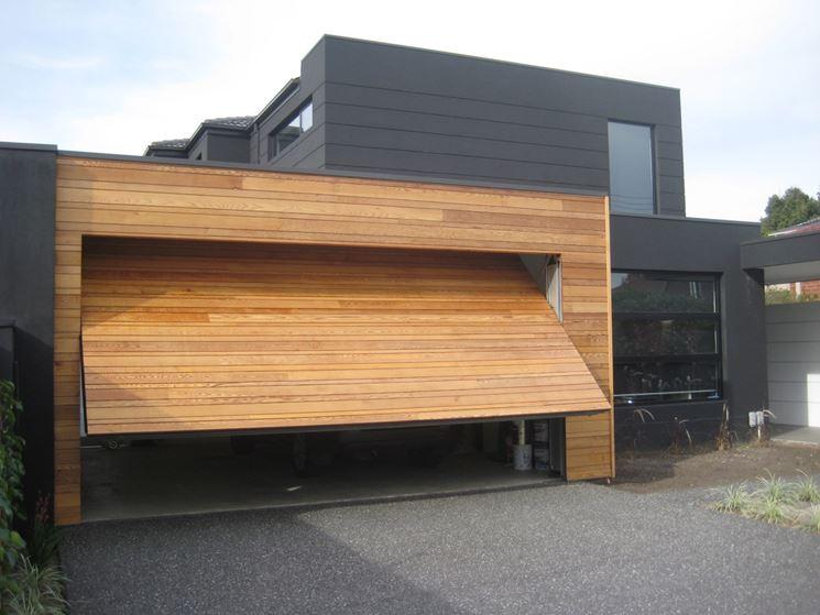Porta per garage basculante