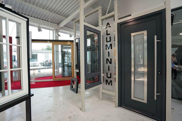 Tipologie di porte in alluminio