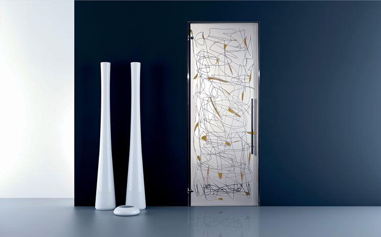 Porte in cristallo porte interne materiale porte - Materiale maniglie porte ...