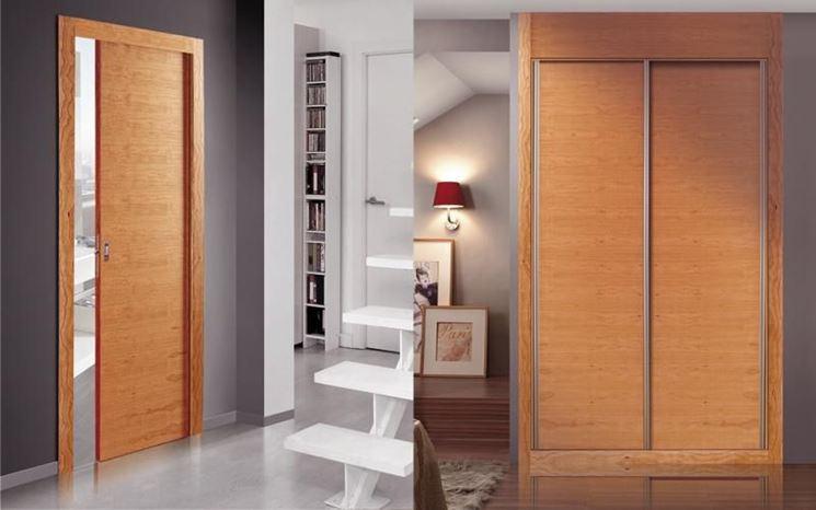 Porte interne scorrevoli porte interne caratteristiche - Porta scorrevole vetro offerta ...