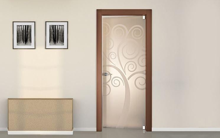 Porte per interni porte interne porte per spazi interni for Porte della casa di tronchi