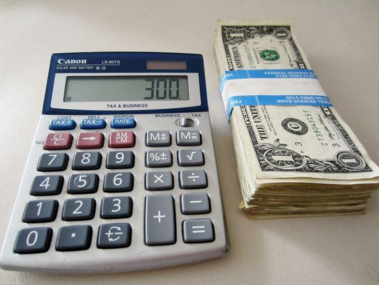 Calcolatrice soldi