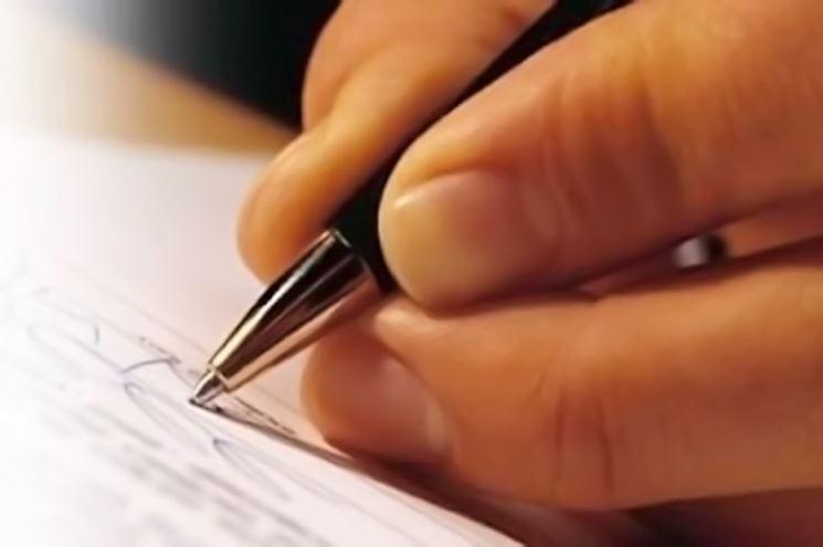 Stesura di un testamento olografo