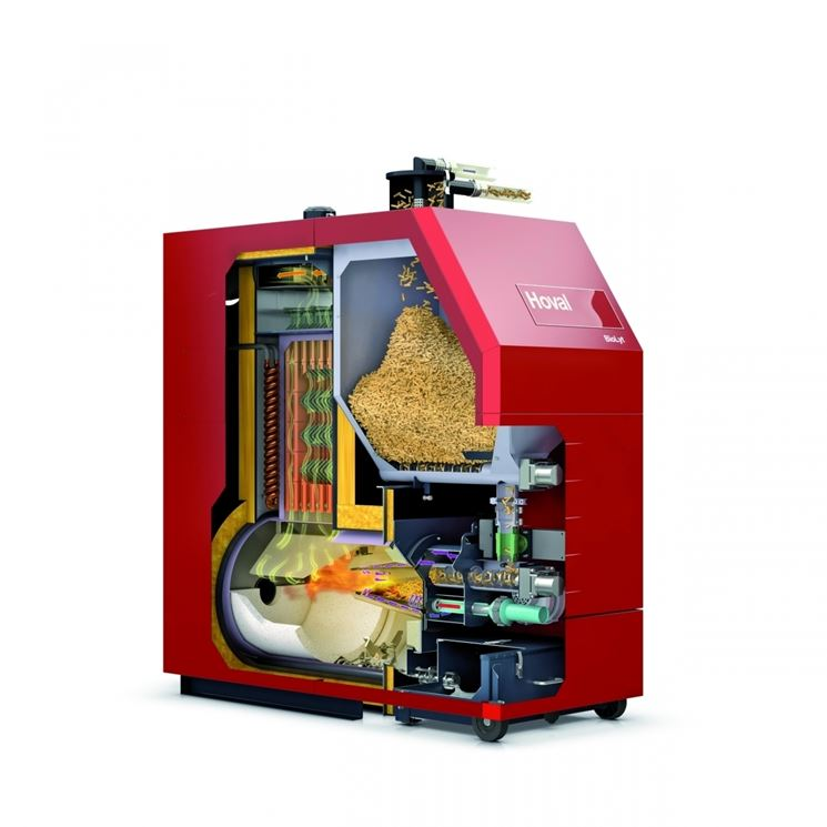 Come funzionano le caldaie biomassa