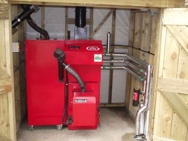 Caldaia biomassa a pellet