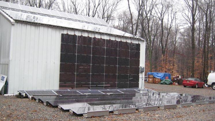 Sistema idrogeno pannelli fotovoltaici