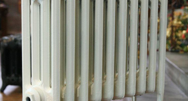 Modello di radiatore in ghisa