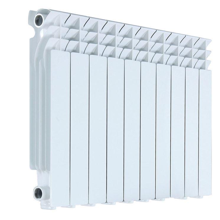 Modello di radiatore in alluminio