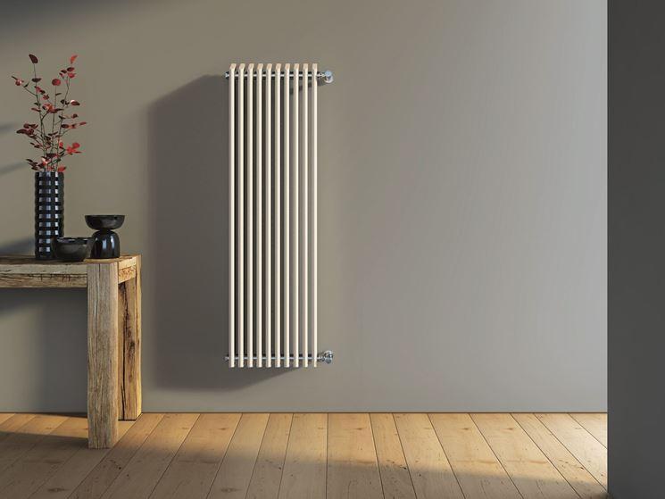 Modello radiatore in acciaio