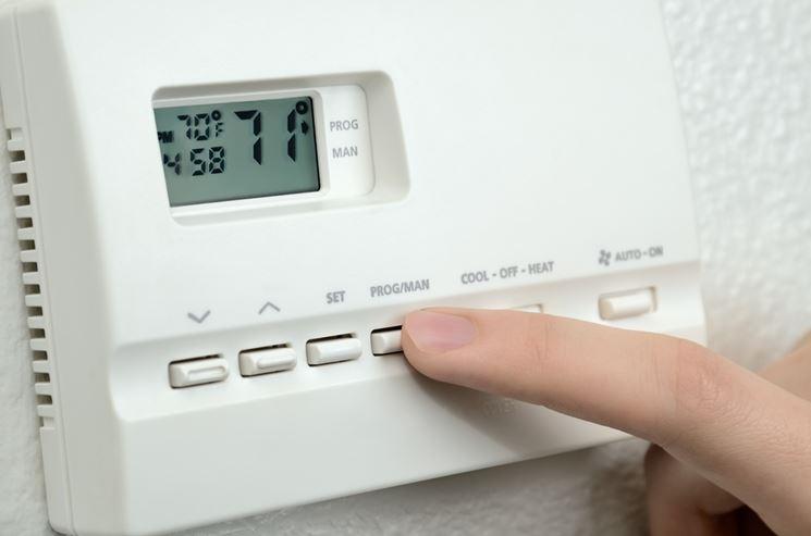 Facile regolazione tramite termostato in un impianto autonomo