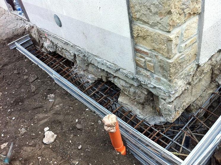 Interventi ristrutturazione fondazioni casa