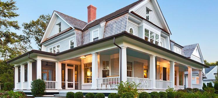 Una casa di legno