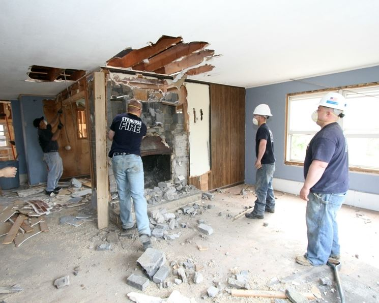 Lavori di ristrutturazione casa