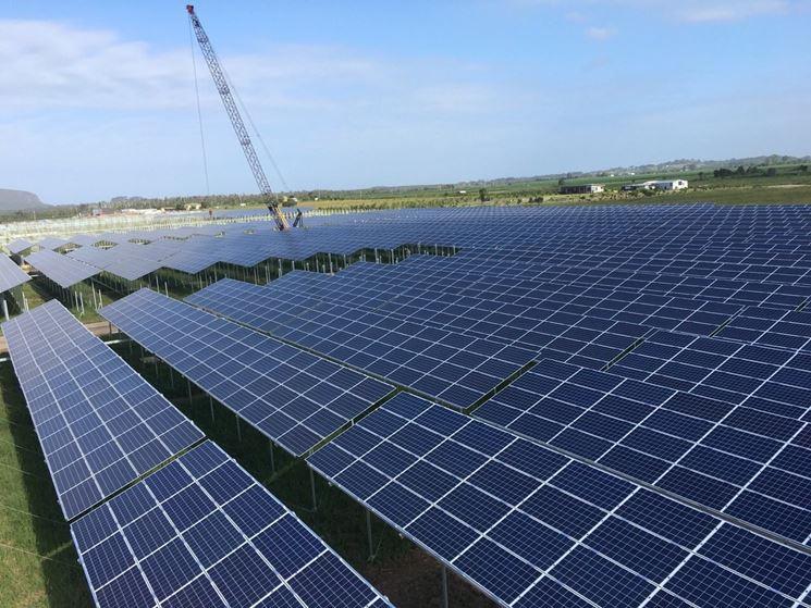 Pannelli fotovoltaici e rinnovabili