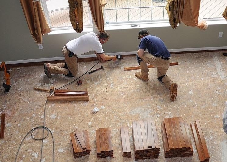 Lavori di ristrutturazione immobile