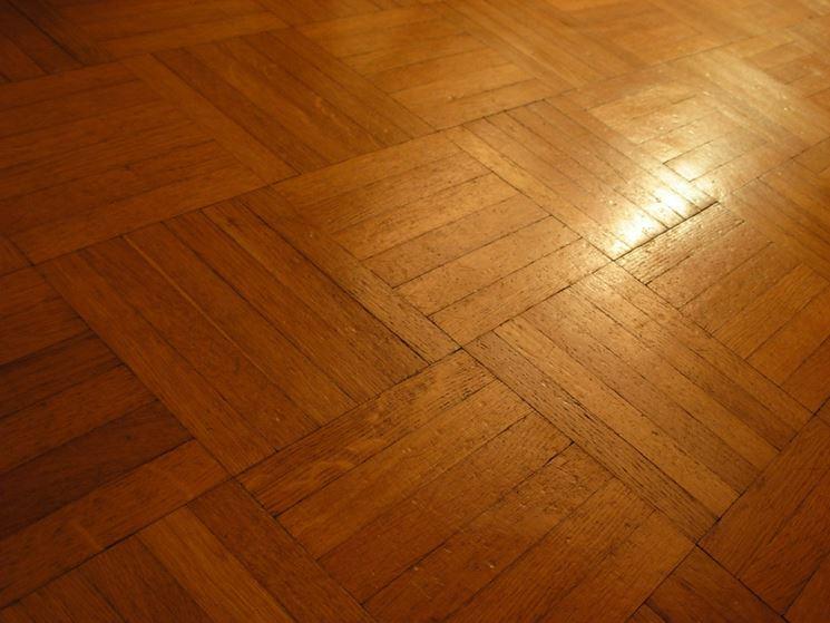 esempio di pavimento in parquet