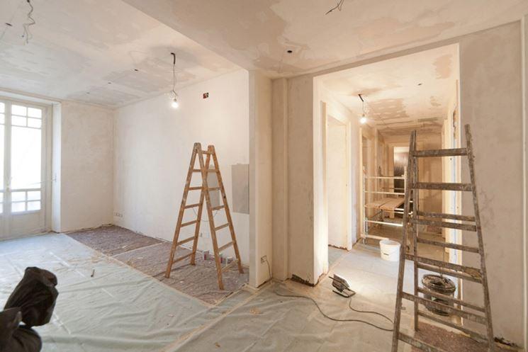 Una ristrutturazione in corso d'opera