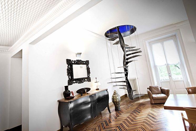 Le scale a chiocciola scale per casa scala chiocciola - Gradini per scale a chiocciola ...