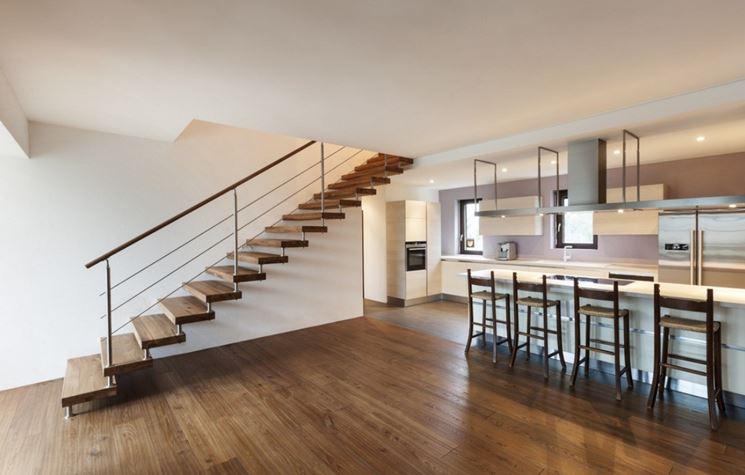 Le scale interne scale per casa modelli scala - Scale interne a vista ...