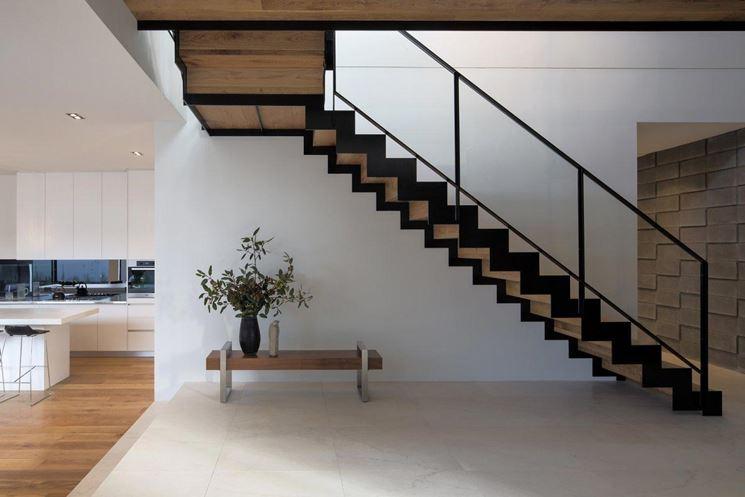 Le scale interne a rampe