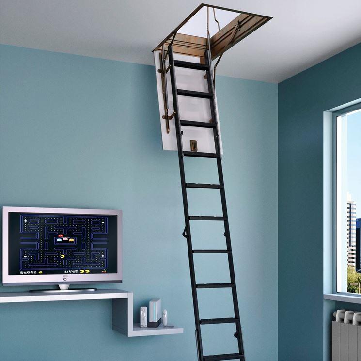 Scala a scomparsa scale per casa scegliere una scala a scomparsa - Scale per casa ...