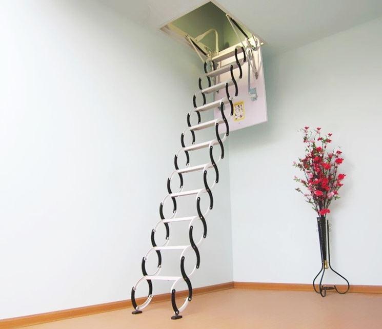 esempio di scala a scomparsa