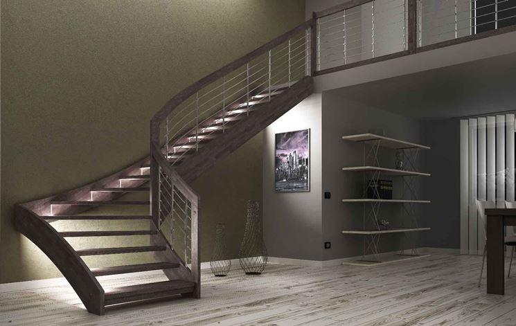 Scala interna scale per casa scelta delle scale interne - Scale a giorno moderne ...