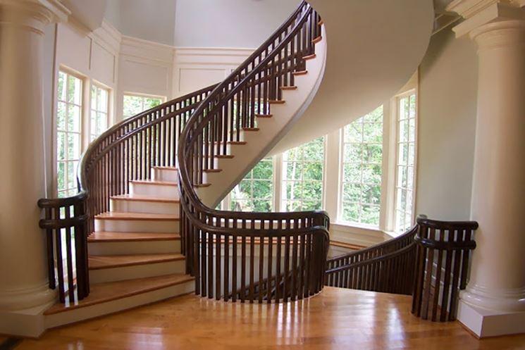 Parapetto in legno, modello di Artistic Stairs
