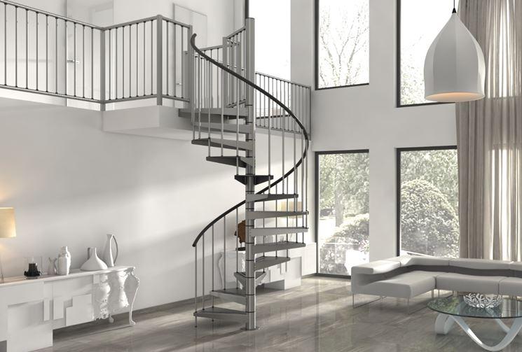 Scale a chiocciola dimensioni scale per casa quali for Casa scala a chiocciola