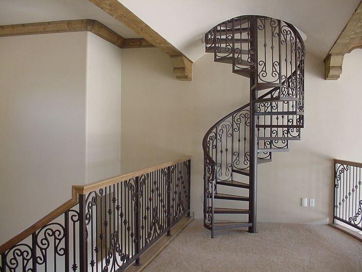 Scale a chiocciola scale per casa tipologie scala for Casa scala a chiocciola