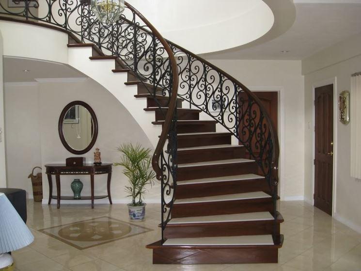 Scale a giorno scale per casa caratteristiche scale a - Scale classiche per interni ...