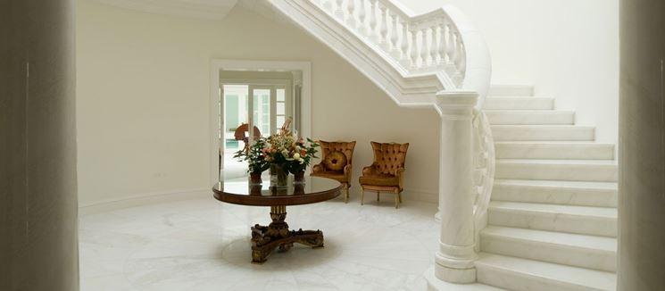 Scale marmo per interni - Scale per casa - Caratteristiche delle scale in marmo per inetrni