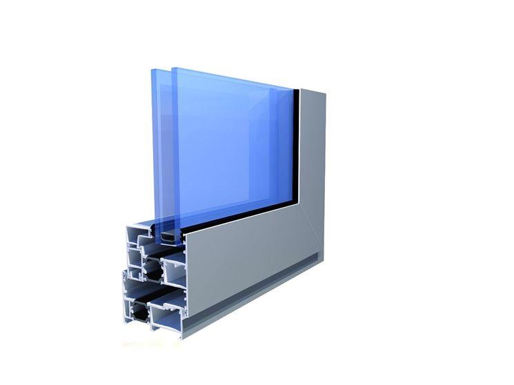 Serramento isolante alluminio