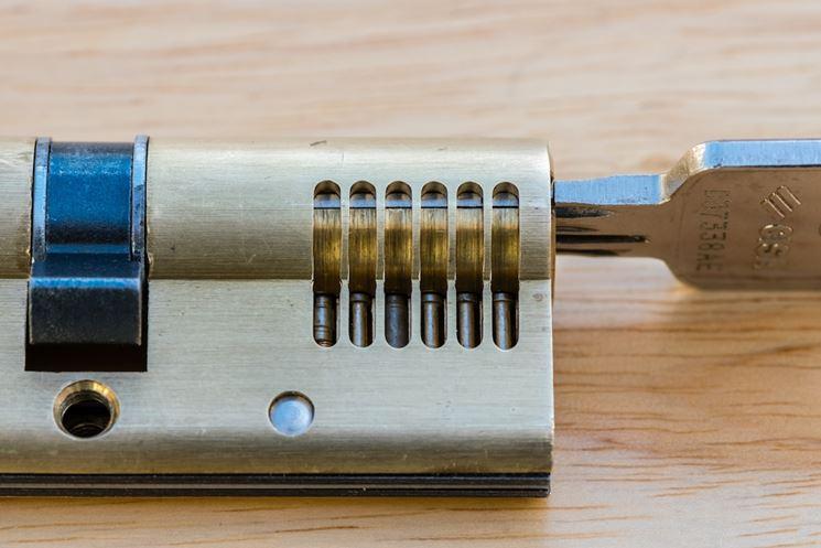 esempio serratura cisa
