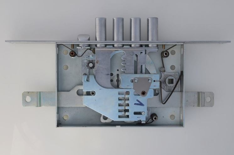 Meccanismo serratura