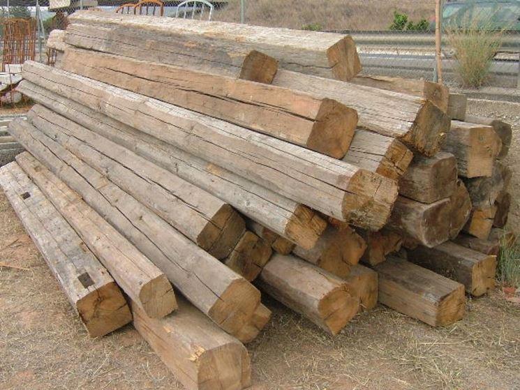 Travi in legno usate pannelli termoisolanti for Pannelli in legno lamellare prezzi