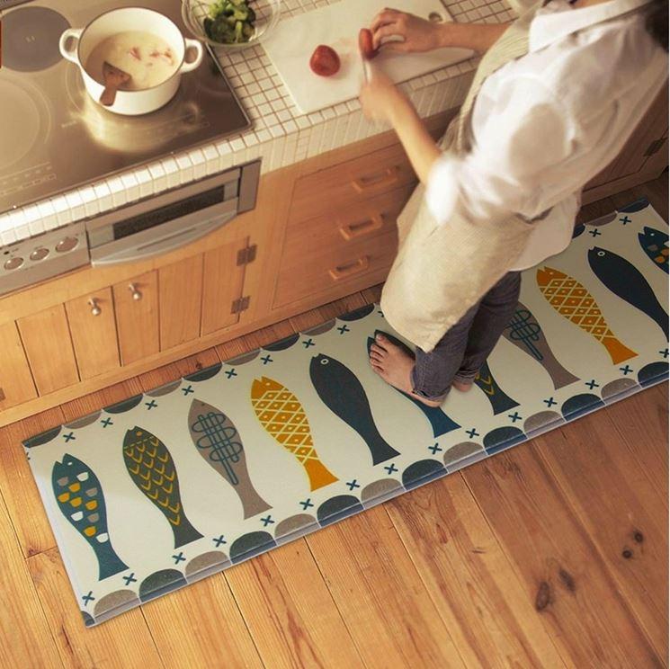 Tappeti cucina antiscivolo dispositivi di sicurezza - Tappetino cucina ...