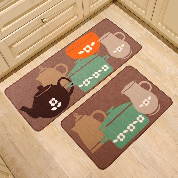 tappeti antiscivolo cucina