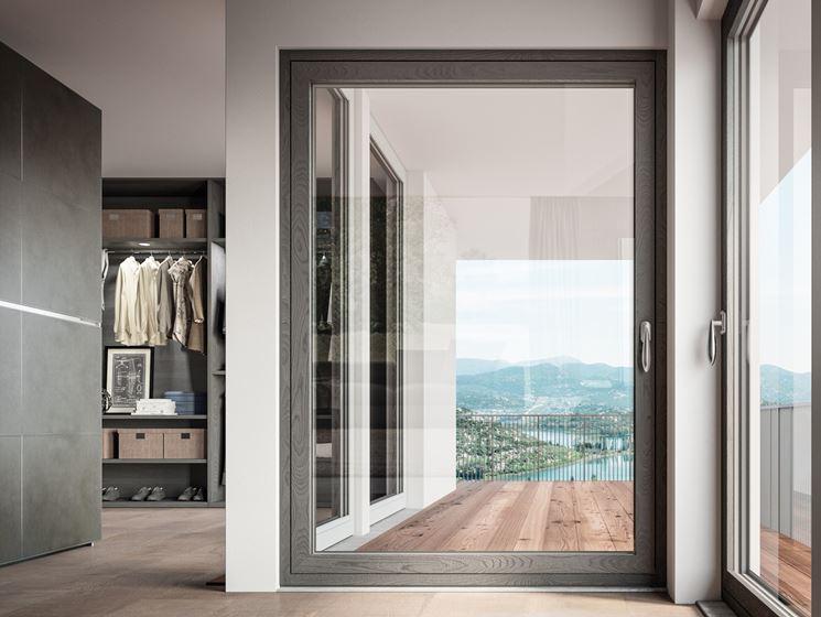 Finestre alluminio legno finestre vantaggi delle finestre in alluminio legno - Finestre di legno ...