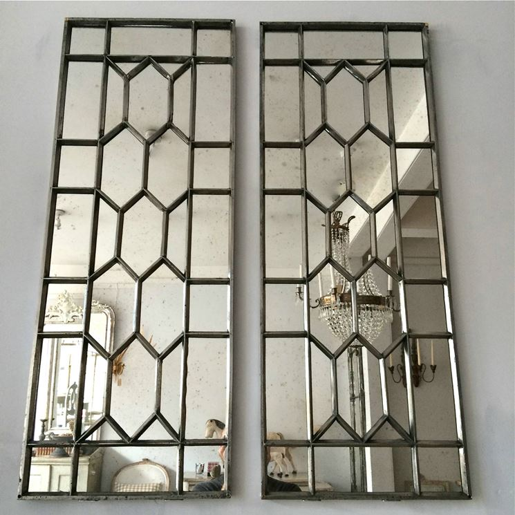 Doppia finestra in ferro