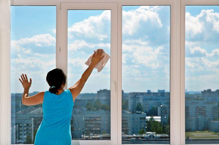 Pulizia finestra