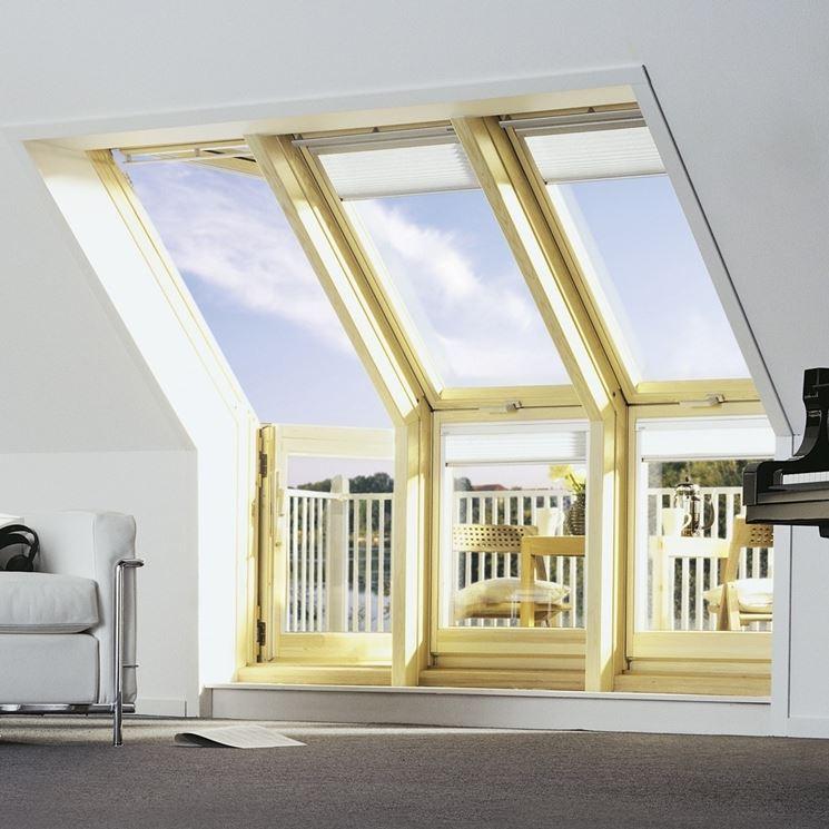 Finestre per mansarde finestre tipi di finestre per for Finestre velux amazon