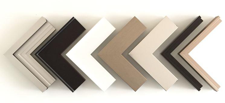 Tanti colori per gli infissi in alluminio
