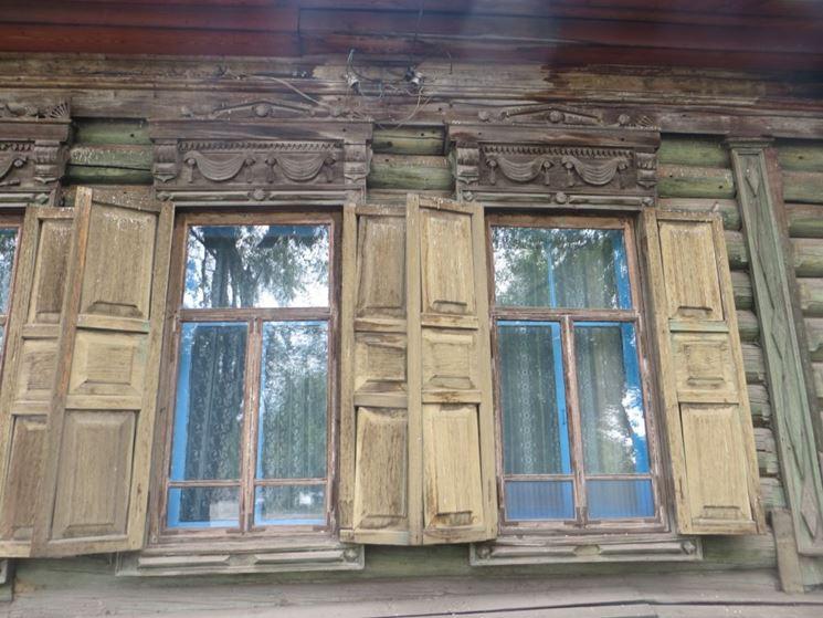 Antichi infissi in legno