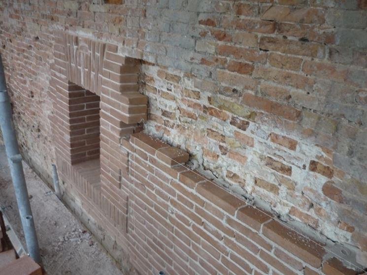 Consolidamento struttura in muratura e legno
